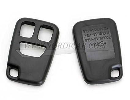 Carcasa para mando a distancia (3 botones): Amazon.es: Coche ...