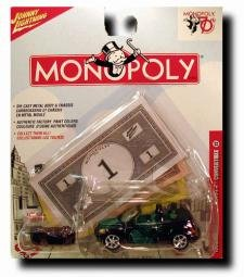 Johnny Lightning Monopoly 70th anniversary car