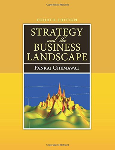 Strategy and the Business Landscape [Pankaj Ghemawat] (Tapa Blanda)