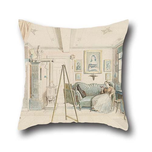 pillow-covers-of-oil-painting-julie-bayer-an-artists-studiofor-hometeenscouplesboysdrawing-roomkids-