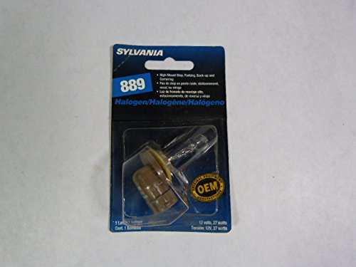 Sylvania 889 Halogen Bulb 12.8V 2.1A 27W (Automotive 12.8v Bulb)