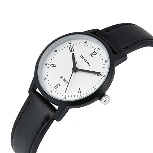Dovoda womens watches fashion small face black leather band dress watch buy online in uae for Dovoda watches