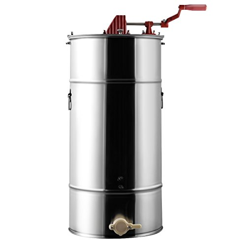 Goplus Large 2 Frame Stainless Steel Honey Extractor Beekeeping Equipment New by Goplus (Image #7)