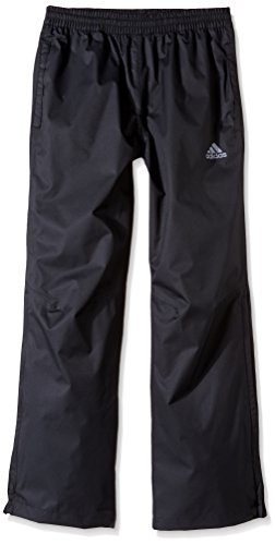 adidas Golf Boys Rain Pants, Black, Small