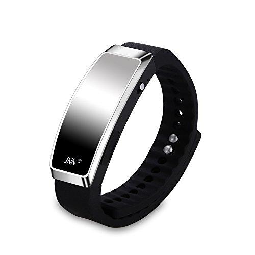 JNN S3 16 GB Digital Diktiergerät Aufnahmegerät Voice Recorder Smart Armband USB Speicher Version 2.0 Schwarz