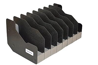 Benchmaster - Weapon Rack - Eight (8) Gun Pistol Rack - Gun Safe Storage Accessories - Gun Rack
