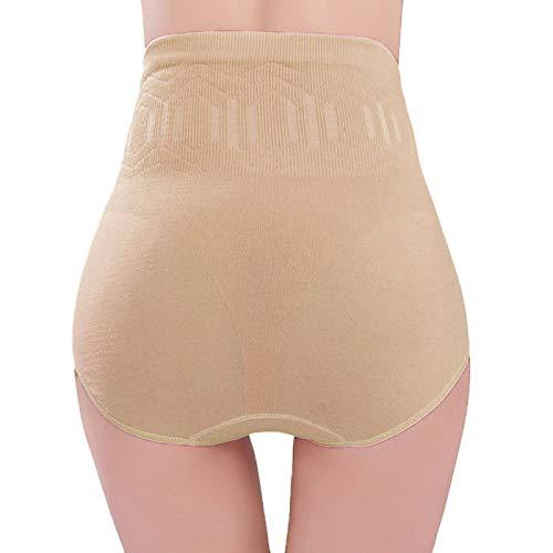 OPALLEY Femme Panties Culotte Taille Haute Gainante Minceur Ventre Plat Efficace sous-vêtements Body Shaper Combinaisons Sculptantes (Taille Unique, B)