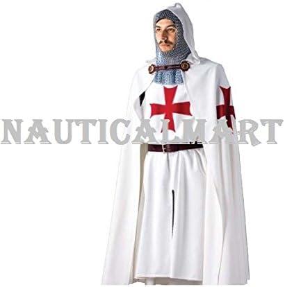 NAUTICALMART - Disfraz de Caballero templario: Amazon.es: Deportes ...
