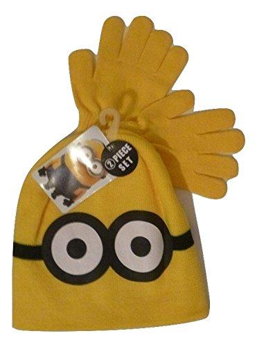 Minion Winter Knit Cap and Glove Set - Fun - USA Seller (Fisher Price Princess Garden compare prices)