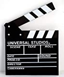 Dry Erase Movie Hollywood Clapboard Director Film Movie Clapper Board Slate … (Black, Lage)
