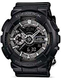 G-Shock S Series Tribal Rose Sports Watch (Black)
