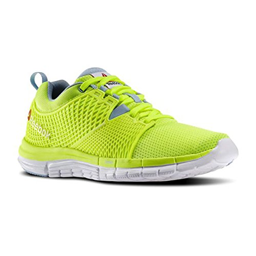 k Dash Running Shoe, Solar Yellow/Denim Glow/White, 6.5 M US ()