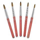 KEMEISI New #8#10#12#14#16 Kolinsky Sable Brush
