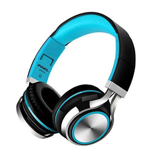 Gotd Headphones Earphone Headset Stereo Wired with Mic for Smartphone MP3/4 PC (Black) ()