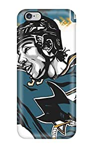 High Impact Dirt/shock Proof Case Cover For iphone 6 plus (san Jose Sharks Hockey Nhl (74) )