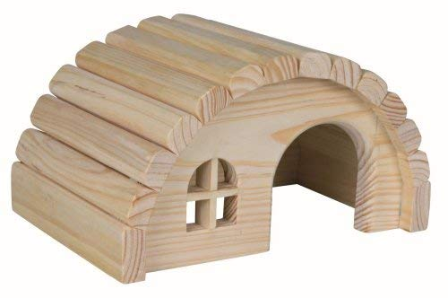 Wooden Nissan House Hut for Hamsters or Gerbils by Trixie