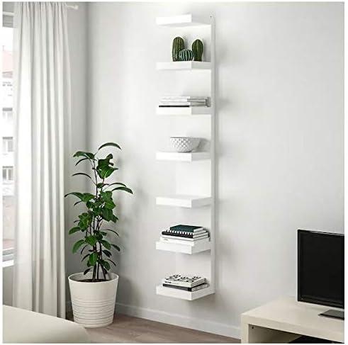 Ikea Estantería de pared (30 x 190 cm), color blanco