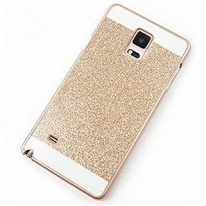 Bling bling brillando teléfono protector de brillo caso de la contraportada para Samsung Galaxy Note 3 / nota 4 / nota 5 ( Color : Oro , Modelos Compatibles : Galaxy Note 3 )