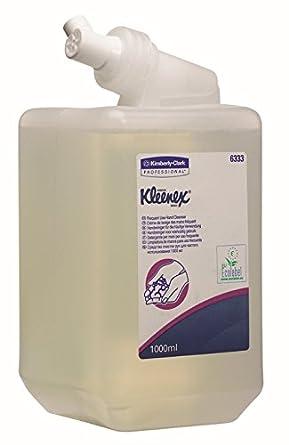 Kleenex 6333 Jabón de Manos Para Uso Frecuente sin Fragancia, 1 Litro, Transparente: Amazon.es: Industria, empresas y ciencia