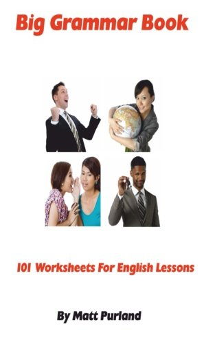 Amazon.com: Big Grammar Book: 101 Worksheets for English Lessons ...