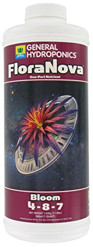 General Hydroponics GH1632 Flora Nova Bloom, Quart, 1