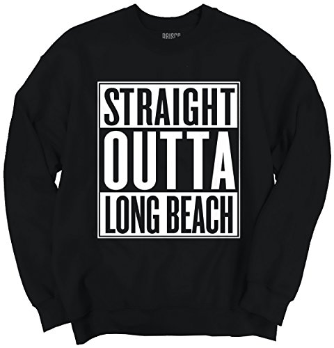 Straight Outta Long Beach, CA City Movie T Shirts Gift Ideas Sweatshirt (Ca Sweater compare prices)