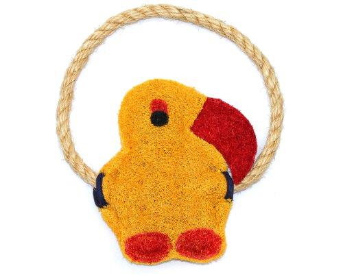 Eco-Loofah EPetOrigD-PA Original Dog Toy, Parrot Design, My Pet Supplies
