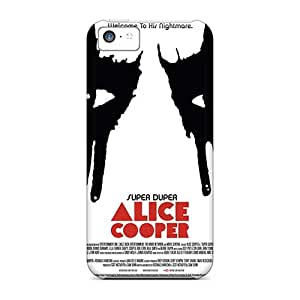 ErleneRobinson Iphone 5c Protective Hard Phone Covers Provide Private Custom High-definition Alice Cooper Band Series [sPr6761PxNC]