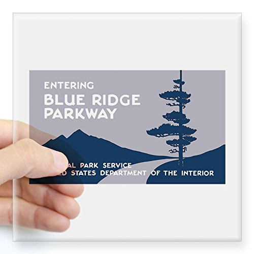blue ridge parkway sticker - 2