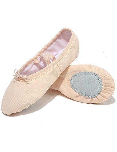 X2X Tela Scarpette da Ballerina Classica Split Scarpe da Danza Indoor  Ginnastica Ritmica Pilates Yoga per Bambini e Adulti di Diverse Dimensioni   Amazon.it  ... a4363905d03