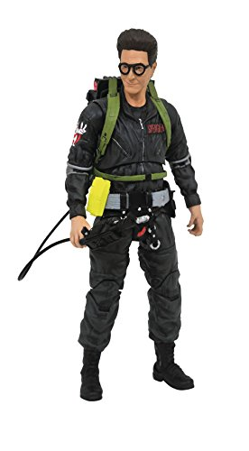 DIAMOND SELECT TOYS Ghostbusters 2 Select: Egon Spengler (Grey Outfit Version) Action Figure