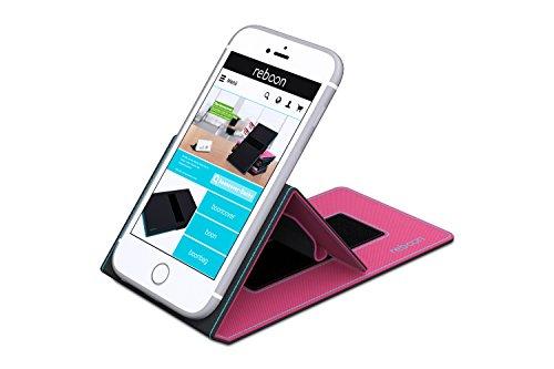 Funda para Xiaomi Mix 2 en Rojo - Innovadora Funda 4 en 1-Anti-Gravedad para Montaje en Pared, Soporte de Tableta en Vehículos, Soporte de Tableta - Protector Anti-Golpes para Coches y Paredes sin nec Rosa