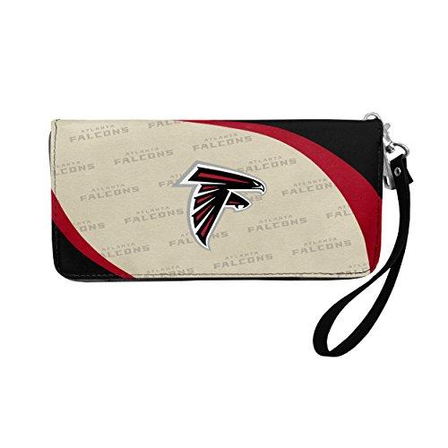 NFL Atlanta Falcons Curve Zip Organizer Wallet