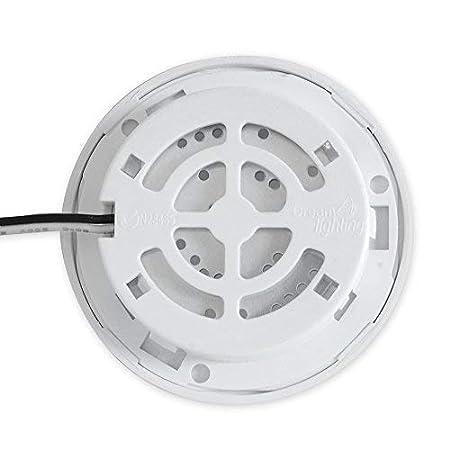 White Shell Pack of 6 Dream Lighting 12volt LED Interior ...