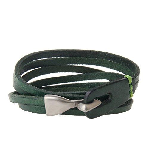 Vintage Button Bracelet Green - 6