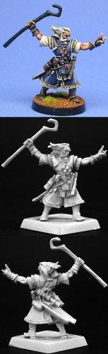 (Reaper Ezren, Iconic Male Human Wizard #60002 Pathfinder Miniatures Unpainted)