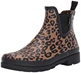 Tretorn Women's LINA2 Rain Boot, Brown Leopard, 5 Medium US