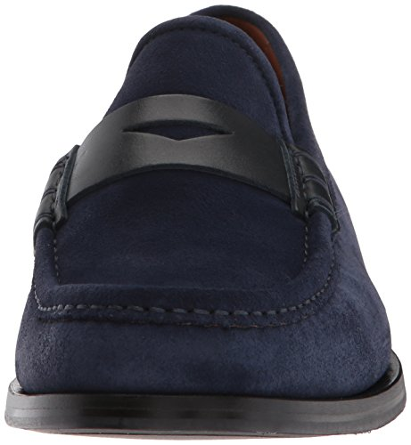 Aquatalia Door Marvin K. Heren Sebastian Suede Loafer Navy