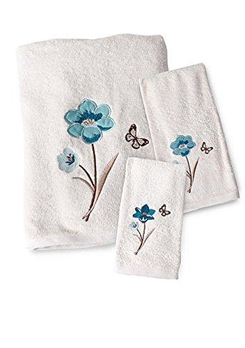Saturday Knight Blue Note Towel Set