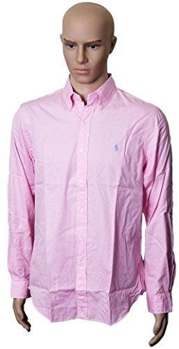 Ralph Lauren Long Sleeve Classic Fit Mens Shirt, Pink M