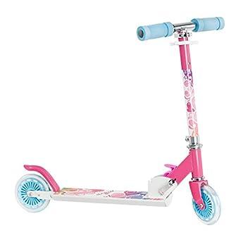 Vision One Move MO13_G_HUL_01 - Patinete para niña (mediano, 2 ruedas), color rosa