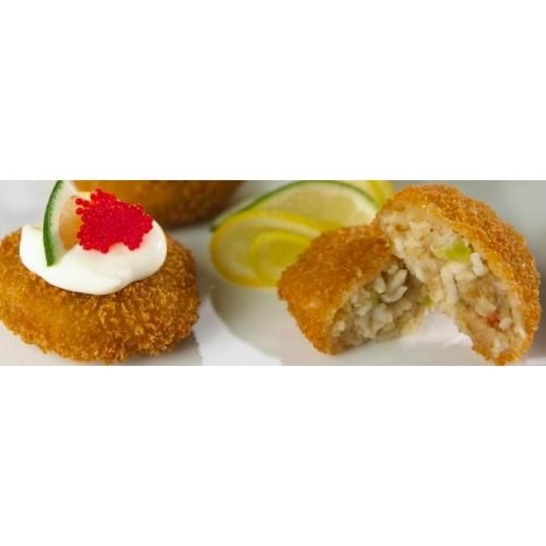 New Wave Kaptains Ketch Breaded Deviled Crab Bite, 0.7 Ounce - 115 per case.