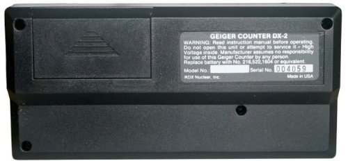 Dx-2 Geiger Counter Nuclear Radiation Detector Analogue Monitor USA Made Handheld Radiation (0-100 Mr/hr)