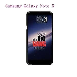 Black The Big Bang Theory Pattern Hard Plastic Case Cover For Samsung Galaxy Note 5 Carcasa Caso