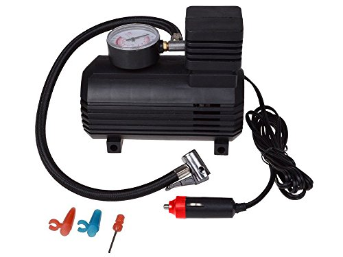 TMS Portable Electric Mini 12V Air Compressor Pump Car Tyre Tire Inflator 300PSI New