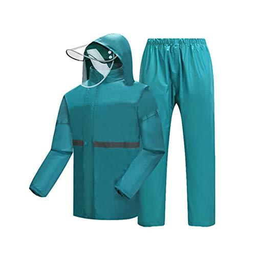 Adult Extérieur Pour Hommes Jxjjd Camping Pantalon Equitation Femmes Convient Jour Lac Rain Suit Etc Waterproof Rainstat Pluie De Split Equitation Bleu Et Randonnée wwqOvYS