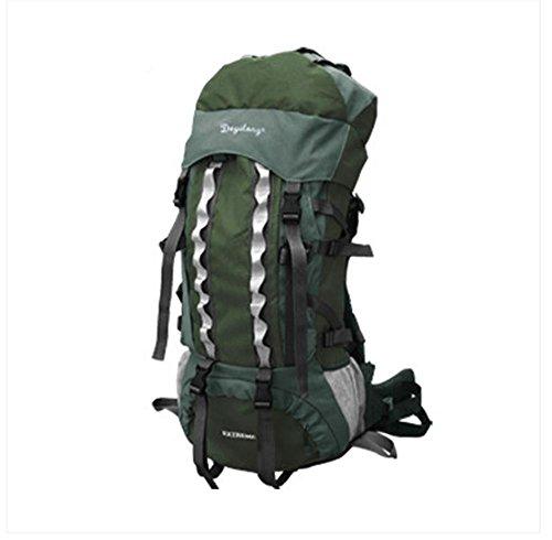 BUSL Al aire libre del alpinismo 60L bolsas mochila de gran capacidad de los hombres y mujeres escalables mochila de viaje . c c