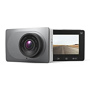 "YI 2.7"" Screen Full HD 1080P60 165 Wide Angle Dashboard Camera, Car DVR Vehicle Dash Cam with G-Sensor, WDR, Loop Recording, Grey"