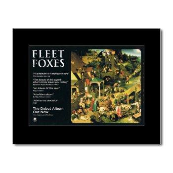 Fleet Foxes - Debut Album Matted Mini Poster