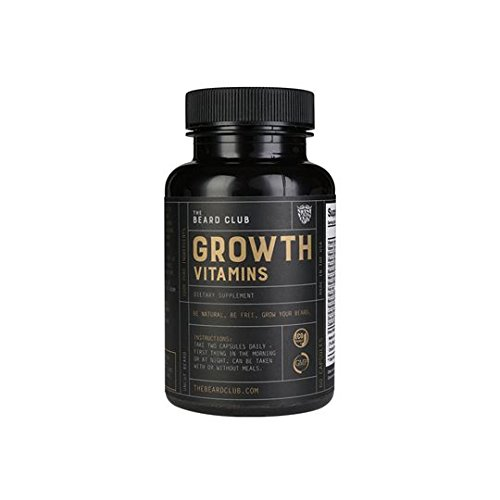 Advanced Beard Growth Kit | The Beard Club | Growth Vitamins, Beard Oil, Shampoo, Beard Spray, Comb, and Brush by The Beard Club (Image #5)